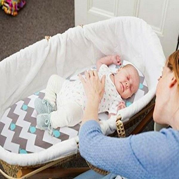 Bassinet Set Pack Stretch Fitted Sheets Unisex /Mattress