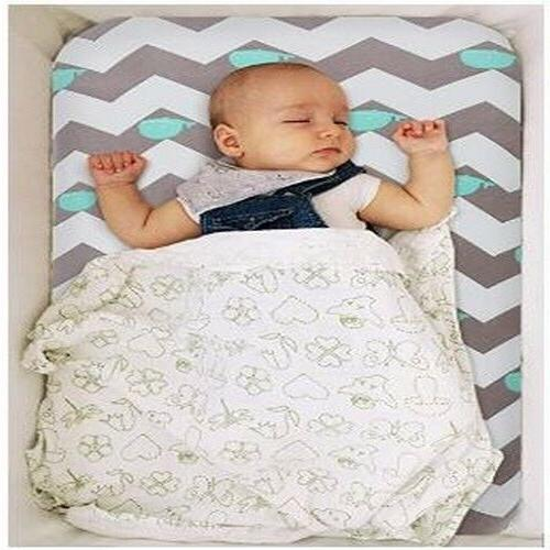 Bassinet Set 2 Pack Stretch Cradle Fitted Sheets Unisex Pads /Mattress