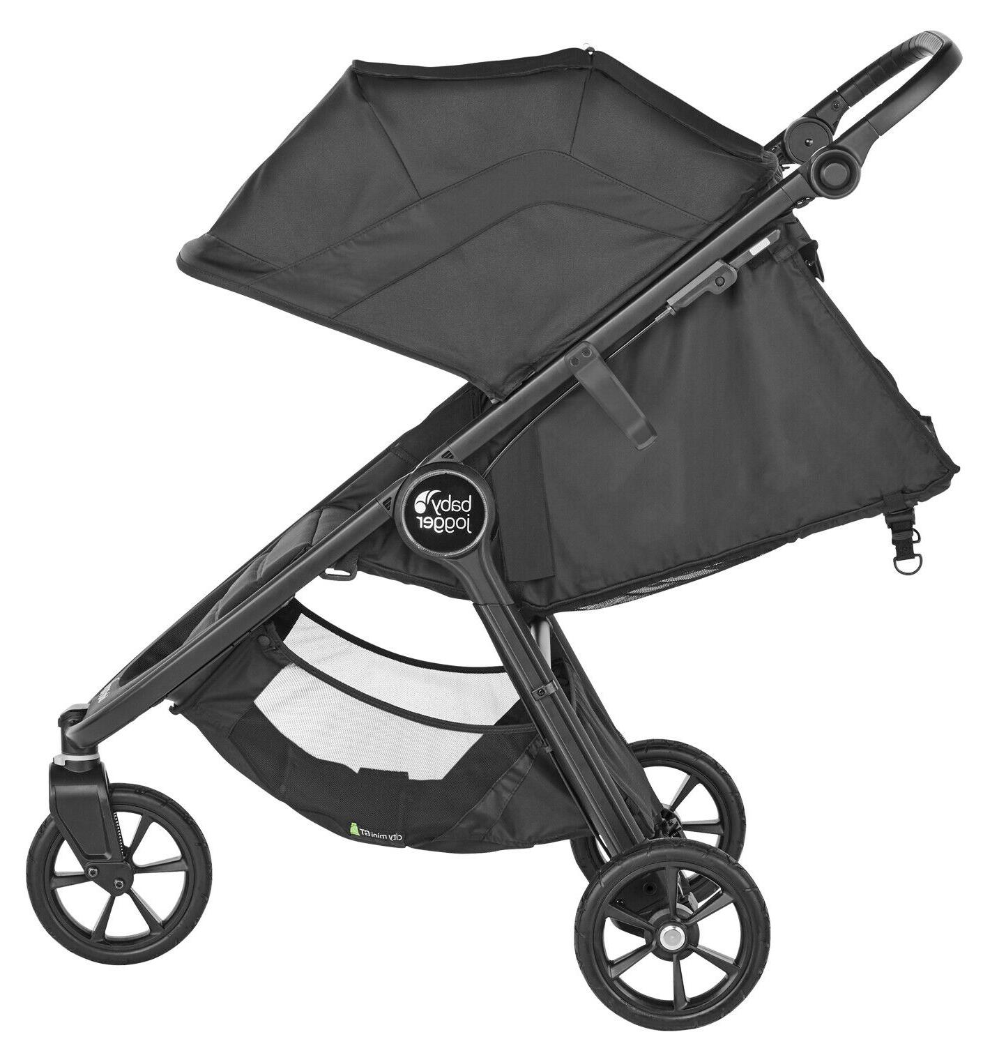 Baby GT2 Travel System w/ Deluxe Pram Bassinet Carbon