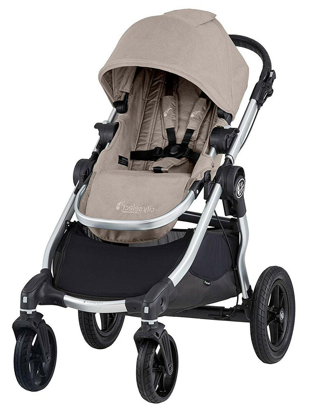 Baby Jogger Select Twin Double Paloma w Second Seat Bassinet 2019