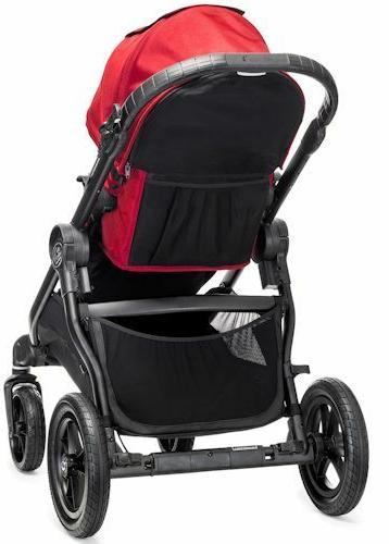 Baby Jogger City Select Twin Double with Second Seat & Bassinet