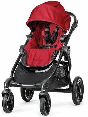 Baby City Select Twin Stroller with Seat Bassinet