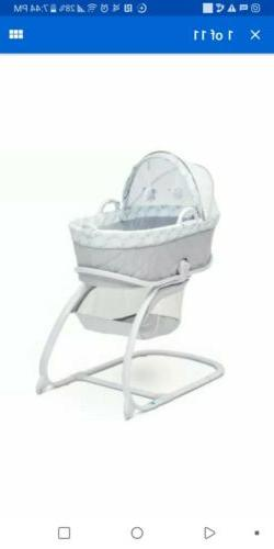 Delta Children Deluxe Moses Bassinet - color - windmill
