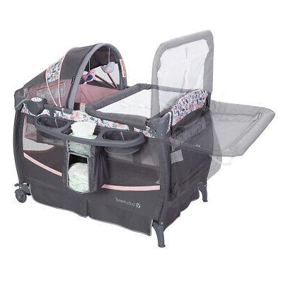 Baby Deluxe Nursery Play Crib with