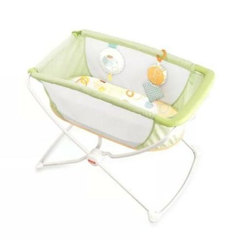 Fisher-Price 'n Play Portable Green NEW IN BOX