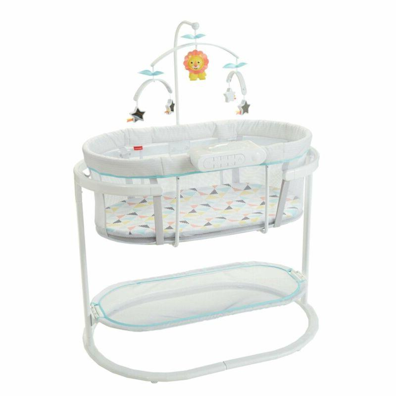 fisher price soothing motions bassinet ocean sands