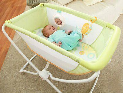Fisher with Infant Bassinet Toy,