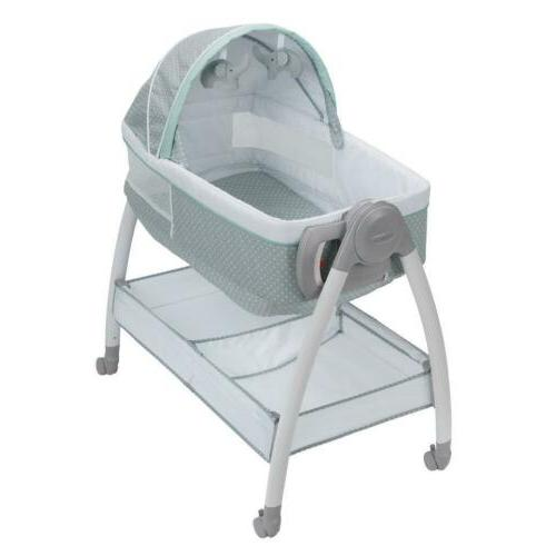 graco dream suite bassinet and change table