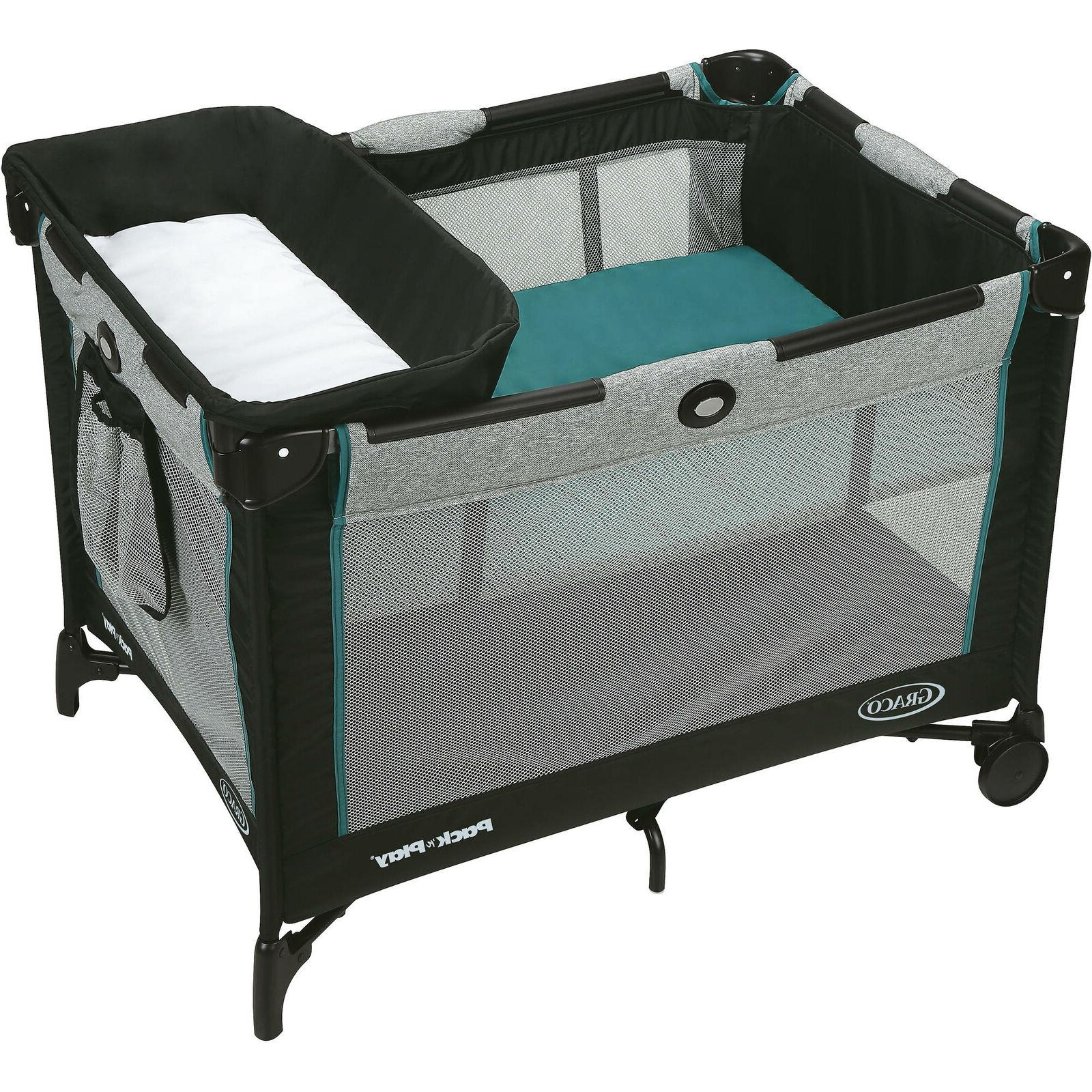 Graco Pack 'n Play Simple Solutions Playard With Bassinet Da