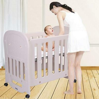 "JOYMOR Baby BPA-Free Crib 2"" Mattress Portable Assembly"