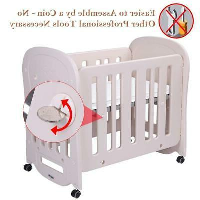 JOYMOR Crib Mattress Assembly