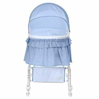 Dream on Me Lacy Portable Bassinet and
