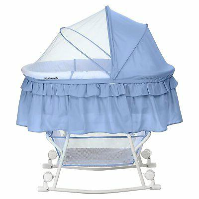 Dream on Me Lacy Portable 2 1 Bassinet