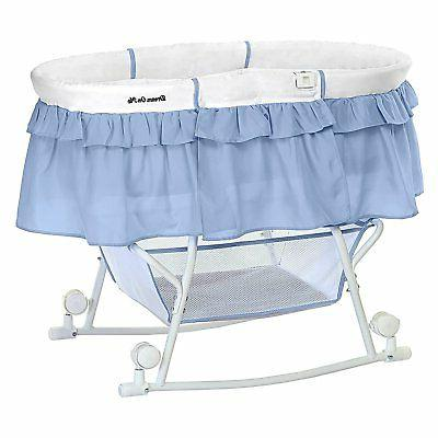 Dream on Lacy Portable 2 Bassinet Cradle