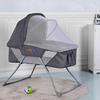 Lightweight Bassinet Rocking Bed Mosquito Net