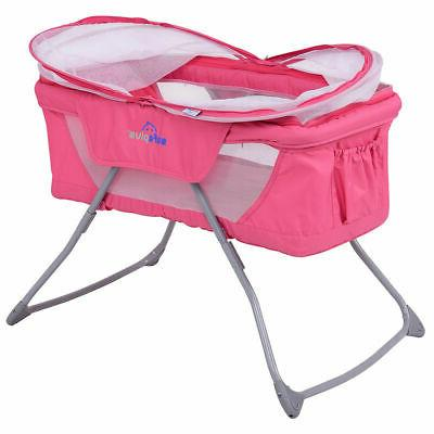 Lightweight Foldable Baby Rocking Carrying Travel
