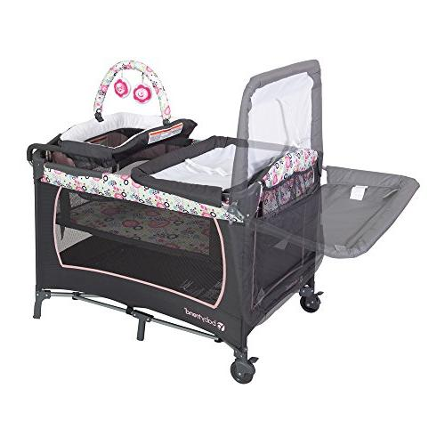 Baby Trend Lil Snooze Deluxe Nursery Center Flor