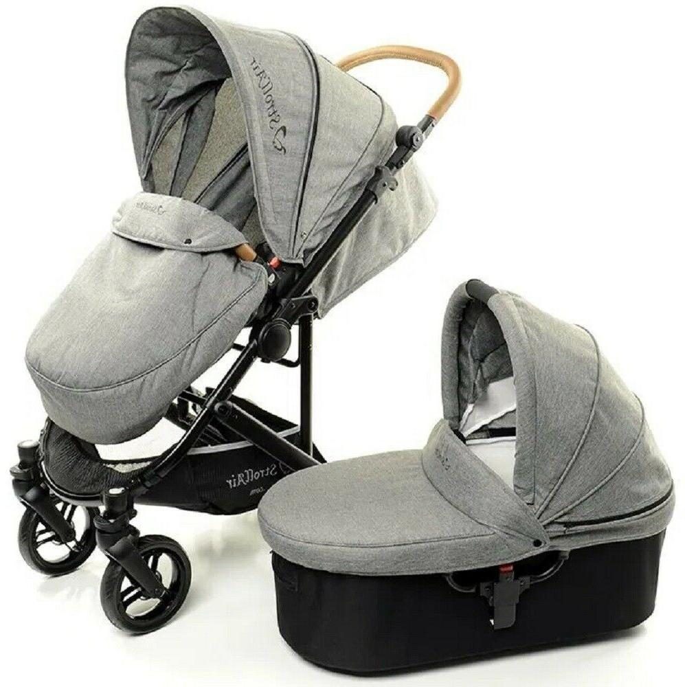 new cosmos single lightweight compact stroller w
