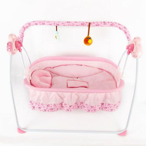 Newborns Bassinets Auto Rocking Electric Baby Cradle