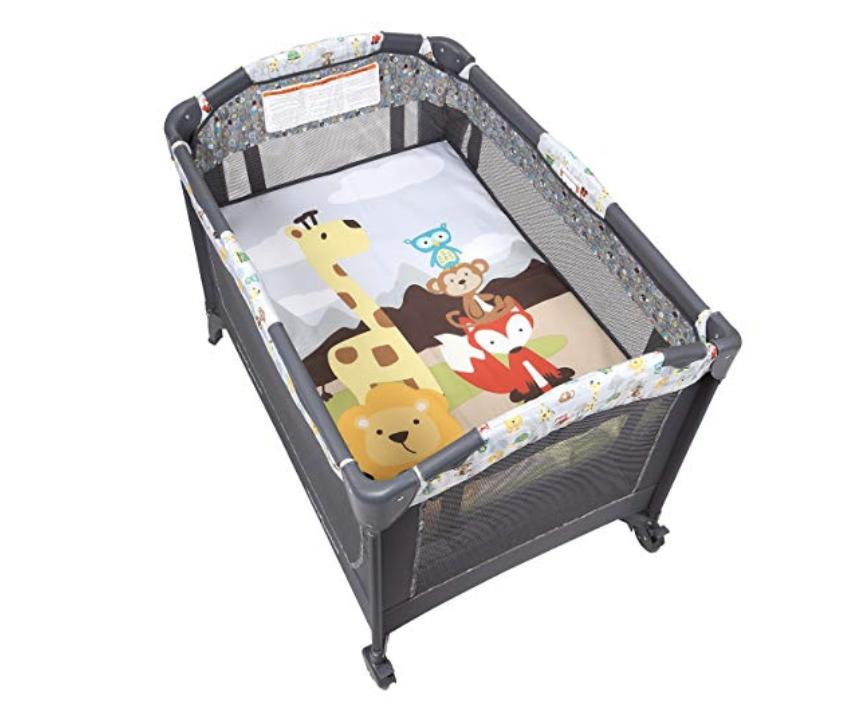 Baby Center Crib Bassinet Foldable with