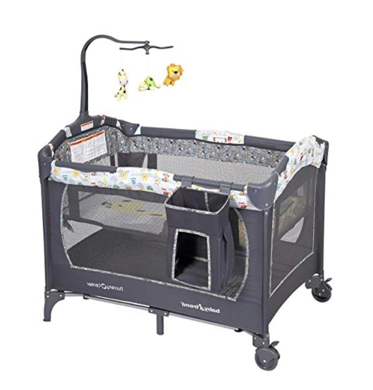 nursery center crib bassinet cradle playpen foldable