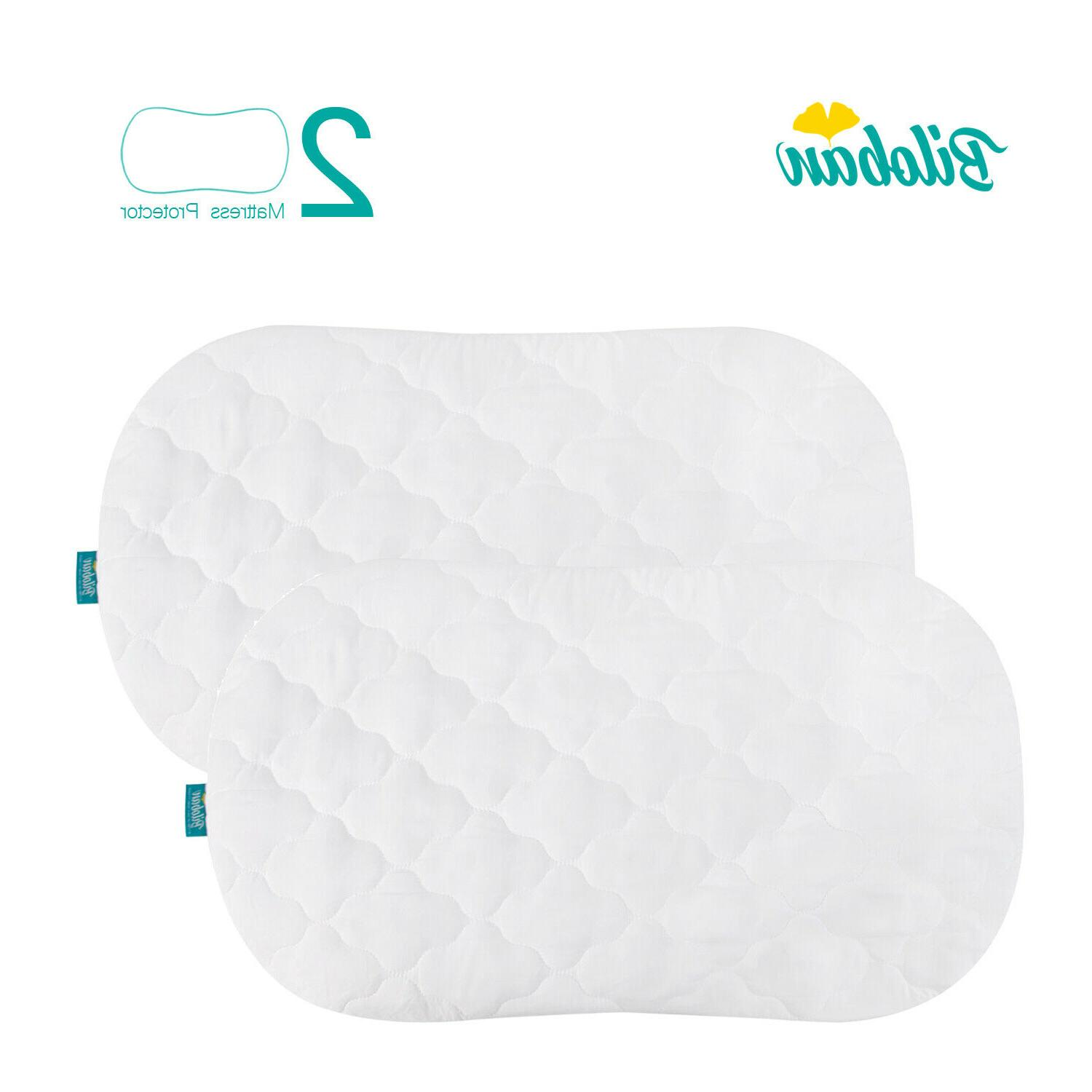 oval hourglass waterproof soft bassinet microfiber mattress