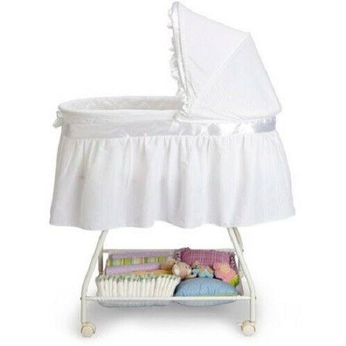 Portable Newborn Cradle Moses Infant Nursery