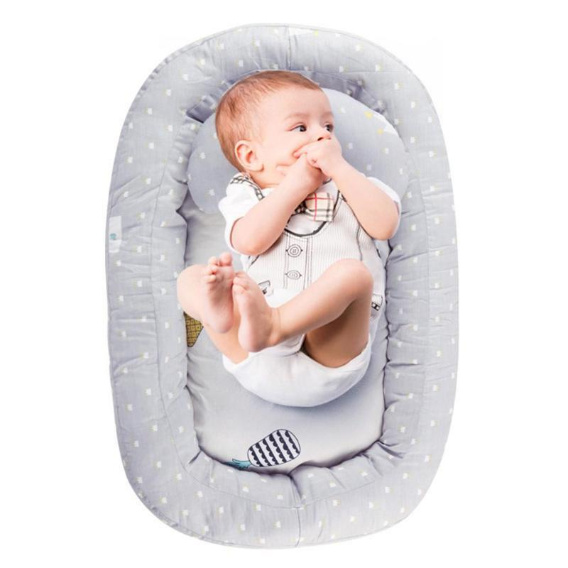 Portable Removable Crib Infant Cotton Cradle