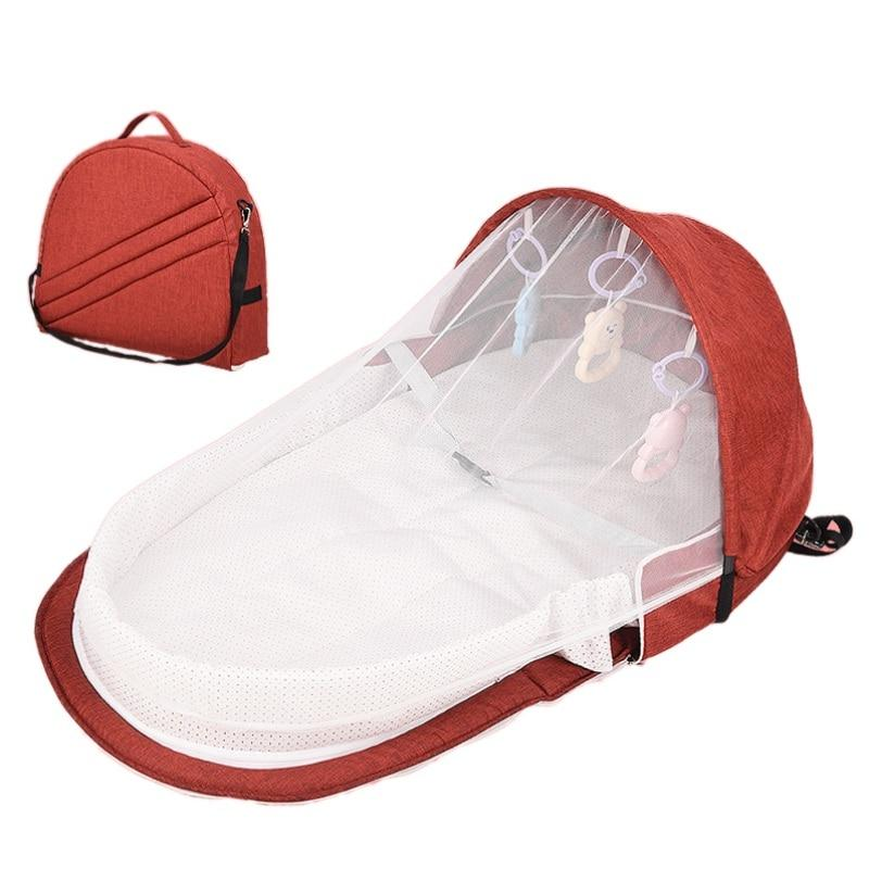 Portable Bed For Baby Bed Protection Mosquito Net Breathable Infant Sleeping Basket