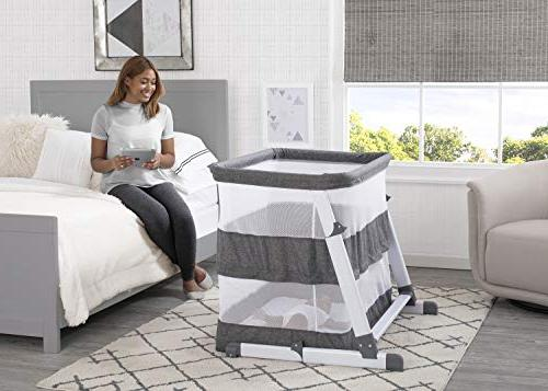 Bassinet Infant Grey Tweed