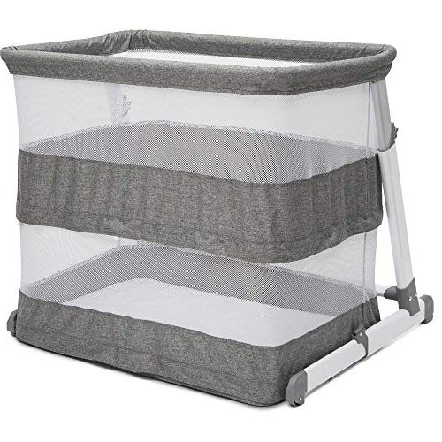 Simmons Kids Room2Grow Bassinet to Sleeper, Grey