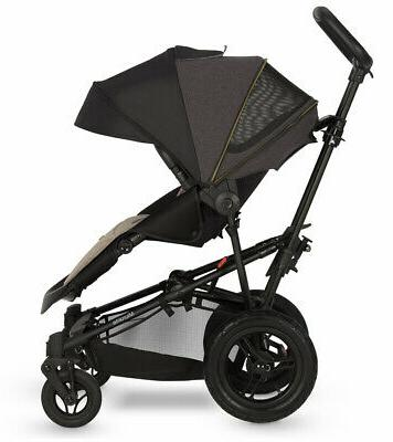 Micralite Bassinet Carbon Baby Quick Fold
