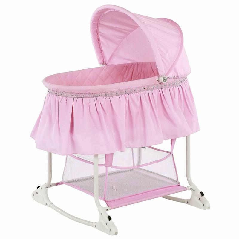 willow bassinet pink