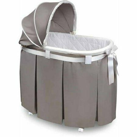 wishes oval bassinet gray