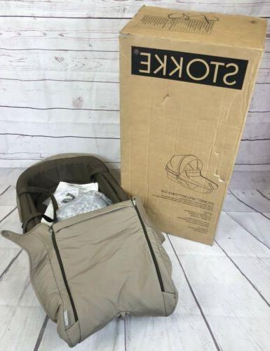 xplory carry cot in brown