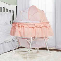 Dream on Me Lacy Portable 2 in 1 Bassinet and Cradle