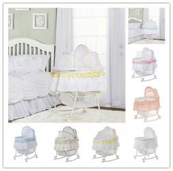 Dream on Me, Lacy Portable 2-in-1 Bassinet, Mattress pad dim