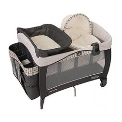 LUXURY BABY PLAYARD + NEW BORN NAPPER ELITE & BASSINET WITH