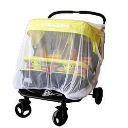 Baby Mosquito Mesh Insect Bug Netting Buggy Cover for Twin/D