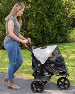 NEW! Pet Gear AT3 NO-ZIP Dog / Cat All Terrain Stroller with