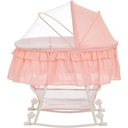 New Dream On Me Lacy Portable 2 In 1 Bassinet And Rocking Cr