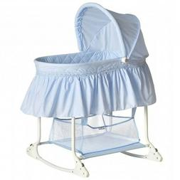 NEW Dream On Me Willow Bassinet For Infants - Sky Blue