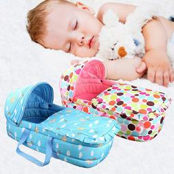 Newborn Baby Infant Moses Basket Portable Cradle Travel Bed