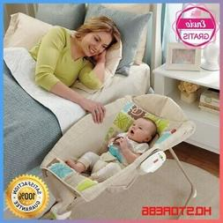 Newborn Sleeper Rocker Swing Infant Rock Play Baby Chair Bas