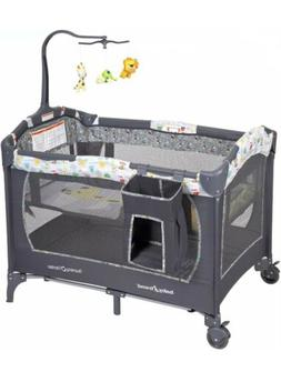 Baby Trend Nursery Center Playard Pack and Play Neutral Slee