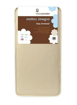 Naturepedic Organic Cotton Bassinet Mattress