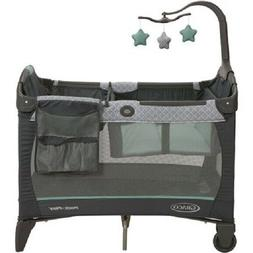GRACO PACK 'N PLAY CHANGE 'N CARRY PLAYARD W/BASSINET, MANOR