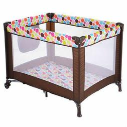 Pack N Play Playard Baby Bassinet Travel Portable Bed Plaype