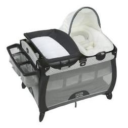 Graco Pack N Play Quick Connect Portable Napper Deluxe With