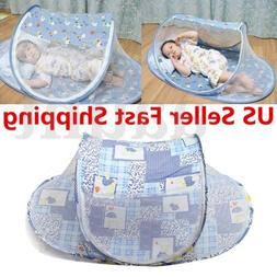 Portable Baby Kids Summer Mosquito Foldable Tent Home Travel